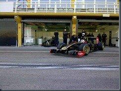 Kimi Raikkonen Valencia Jan. 2012
