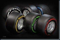 2012 Pirelli F1 Tyres