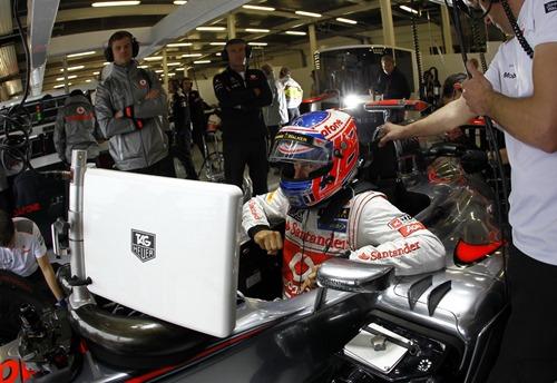 Jenson Button at British GP