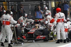 Lewis Hamilton at British GP