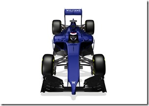 2014 Official Photos January 2013 The Williams FW36 Photo: Williams F1 . ref: Digital Image WF1_FW36_FRONT_3_4