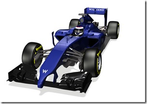 2014 Official Photos January 2013 The Williams FW36 Photo: Williams F1 . ref: Digital Image WF1_FW36_ISO