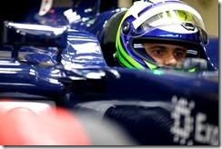 2014 F1 Pre Season Test 1 - Day 4 Circuito de Jerez, Jerez, Spain. Friday 31 January 2014. Felipe Massa, Williams FW36 Mercedes.  World Copyright: Glenn Dunbar/Williams F1. ref: Digital Image _89P0456