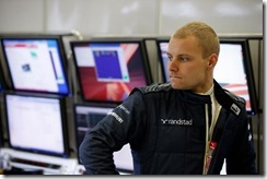 2014 F1 Pre Season Test 1 - Day 2 Circuito de Jerez, Jerez, Spain. Tuesday 28 January 2014. Valterri Bottas, Williams F1. World Copyright: Glenn Dunbar/Williams F1. ref: Digital Image _89P8920