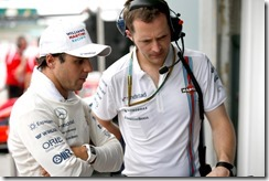 Sepang International Circuit, Sepang, Kuala Lumpur, Malaysia. Saturday 29 March 2014. Felipe Massa, Williams F1. Photo: Glenn Dunbar/Williams F1. ref: Digital Image _W2Q5714