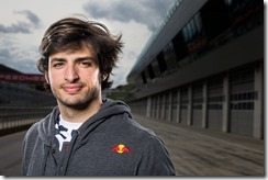 Carlos Sainz jr. poses for a portrait during the Red Bull Juniors Media Day in Spielberg Austria, on April 23rd, 2014 // Samo Vidic/Red Bull Content Pool // P-20140426-00051 // Usage for editorial use only // Please go to www.redbullcontentpool.com for further information. //