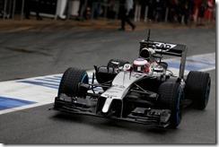 Circuit de Catalunya, Barcelona, Spain. Tuesday 13 May 2014. Jenson Button, McLaren MP4-29 Mercedes. World Copyright: Sam Bloxham/LAT Photographic. ref: Digital Image _SBL9737