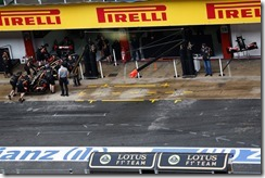 Circuit de Catalunya, Barcelona, Spain. Tuesday 13 May 2014. Charles Pic, Lotus E22 Renault. World Copyright: Sam Bloxham/Lotus F1. ref: Digital Image _SBL9964