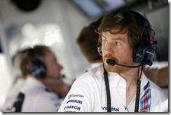 Bahrain International Circuit, Sakhir, Bahrain. Saturday 5 April 2014. Rob Smedley, Head of Vehicle Performance, Williams F1. Photo: Glenn Dunbar/Williams F1. ref: Digital Image _W2Q9917