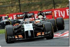 Force_India-F1_Cars-Hungarian_GP-2014