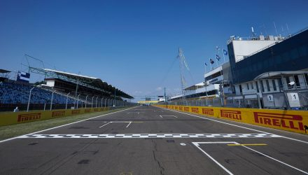 F1 Grid Hungaroring