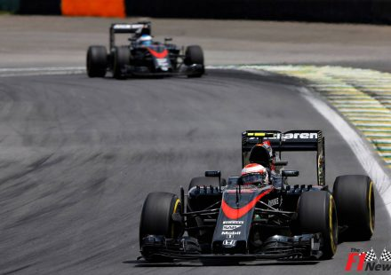 McLaren Brazil 2015