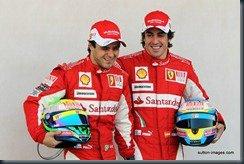 Alonso and Massa