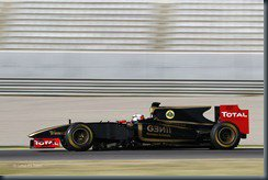 Kimi Raikkonen First Run Valencia, Spain. 24th January 2012 Kimi Raikkonen. Action Photo: Andrew Ferraro/Lotus F1 Team ref: Digital Image _Q0C9475