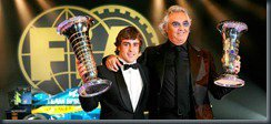 Fernado Alonso and Flavio Briatore