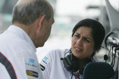 Monisha Kaltenborn_and_Peter_Sauber