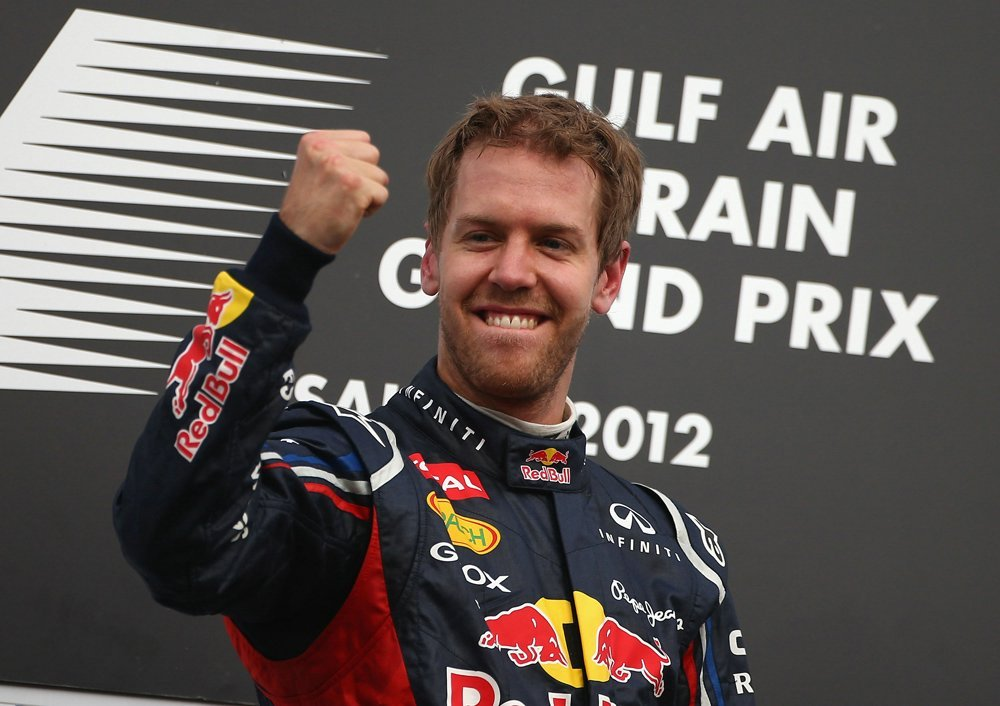 First win for Vettel
