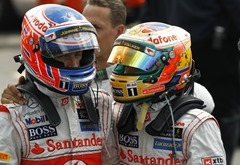 Jenson Button at British GP