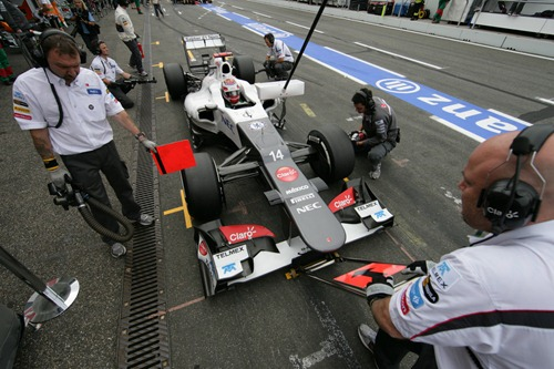 Sauber-GermanGP_2012-Saturday-04