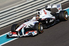 Young Drivers F1 Test Abu Dhabi 15-17/11/11