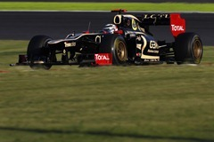 2012 Japanese Grand Prix - SundaySuzuka Circuit, Suzuka, Japan.7th October 2012.Kimi Raikkonen, Lotus E20 Renault. World Copyright:Andrew Ferraro/LAT Photographicref: Digital Image _Q0C1659