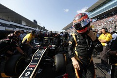 2012 Japanese Grand Prix - SundaySuzuka Circuit, Suzuka, Japan.7th October 2012.Romain Grosjean, Lotus E20 Renault. World Copyright:Andrew Ferraro/LAT Photographicref: Digital Image _79P2622