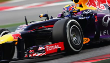 Mark Webber - Action