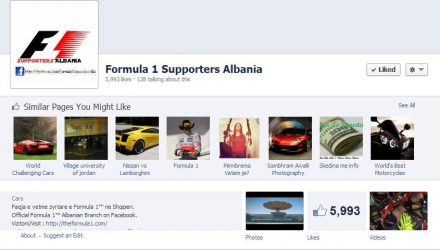 Formula 1 Supporters Albania