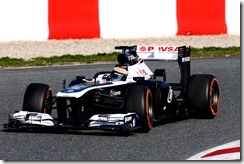 F1 Testing Barcelona 2 - Day 4