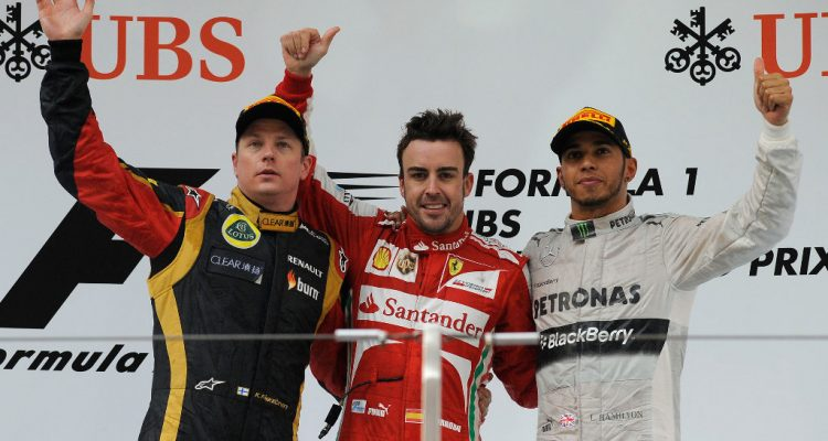 Chinese-GP-Podium