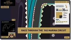 Yas Marina Interactive Race Circuit Banner