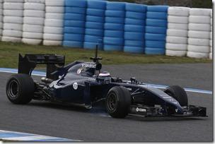 2014 F1 Pre Season Test 1 - Preview Circuito de Jerez, Jerez, Spain. Tuesday 28 January 2014. Valterri Bottas, Williams FW36 Mercedes. World Copyright: Alastair Staley/Williams F1. ref: Digital Image _R6T8764