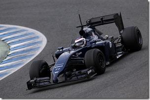 2014 F1 Pre Season Test 1 - Preview Circuito de Jerez, Jerez, Spain. Tuesday 28 January 2014. Valterri Bottas, Williams FW36 Mercedes. World Copyright: Alastair Staley/Williams F1. ref: Digital Image _R6T8886