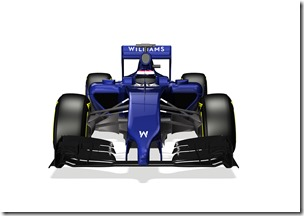 2014 Official Photos January 2013 The Williams FW36 Photo: Williams F1 . ref: Digital Image WF1_FW36_FRONT_LOW