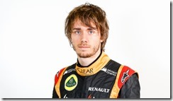 Enstone, Oxfordshire, UK.  4th February 2014.  Charles Pic, Lotus F1 Team. Photo: Lotus F1 Team (Copyright Free FOR EDITORIAL USE ONLY).  ref: Digital Image _79P1312