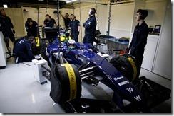 2014 F1 Pre Season Test 1 - Day 4 Circuito de Jerez, Jerez, Spain. Friday 31 January 2014. Felipe Massa, Williams FW36 Mercedes. World Copyright: Glenn Dunbar/Williams F1. ref: Digital Image _W2Q0761