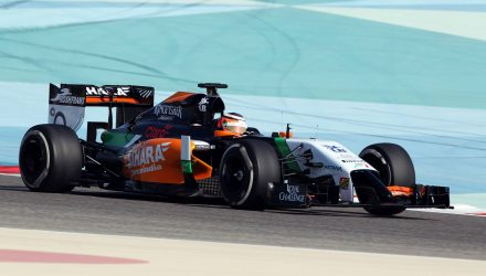 Nico_Hulkenberg-Sahara_Force_India-Bahrain_Tests