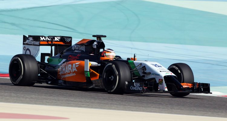 Nico_Hulkenberg-Sahara_Force_India-Bahrain_Tests