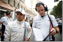 Monte Carlo, Monaco. Sunday 25 May 2014. Felipe Massa, Williams F1, on the grid. Photo: Glenn Dunbar/Williams F1. ref: Digital Image _W2Q2272