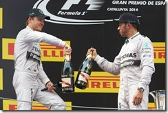 Lewis_Hamilton-and-Nico_Rosberg-Spanish_GP-2014-Podium_Celebrations