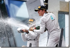 Nico-and-Lewis-Podium_Celebrations-Austria