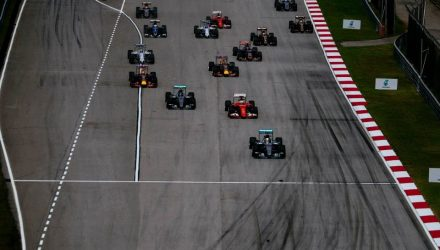 Malaysian GP 2015 Race Start