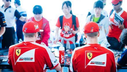Kimi and Vettel