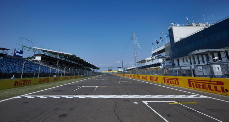 F1 Grid Hungaroring