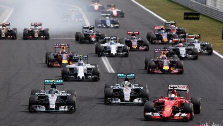 Hungarian GP Start