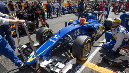 Sauber C34 Monza 2015