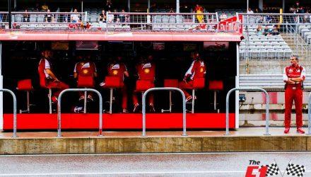 Ferrari Pitwall