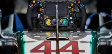 Mercedes W06 Steering Wheel