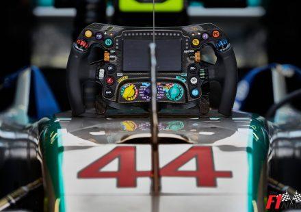 Mercedes W06 Steering Wheel