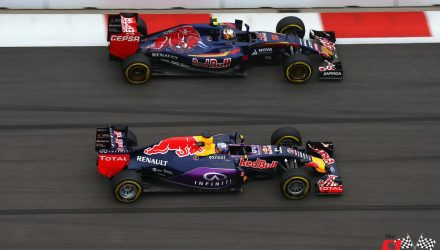 RB11 and STR10 at Sochi